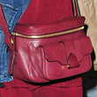 Katie Holmes Leather Messenger Bag