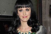 Katy Perry Rocks Long Curls at Radio One in London