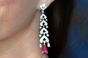 Kaya Scodelario Chandelier Earrings