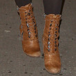 Keira Knightley Shoes - Lace Up Boots