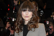 Keira Knightley Long Curls with Bangs