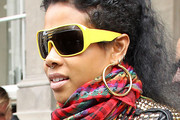 Kelis Designer Shield Sunglasses