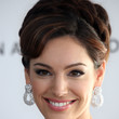 Kelly Brook Hair - Braided Bun