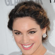 Kelly Brook Hair - Braided Updo