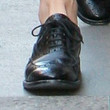 Kelly Brook Flat Oxfords