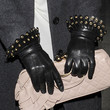 Kelly Brook Leather Gloves