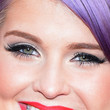 Kelly Osbourne Metallic Eyeshadow