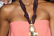 Kelly Rowland Gold Pendant