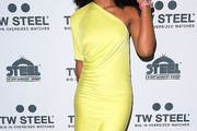 Kelly Rowland One Shoulder Dress