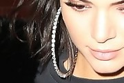 Kendall Jenner Hoop Earrings