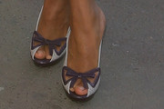 Kerry Washington Slide Sandals