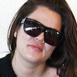 Khloe Kardashian Designer Shield Sunglasses