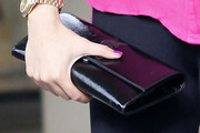 Kim Lee Patent Leather Clutch