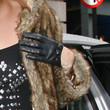 Kimberly Wyatt Leather Gloves