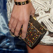 Kourtney Kardashian Handbags - Gemstone Inlaid Clutch