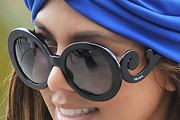 Kourtney Kardashian Round Sunglasses