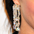 Krysten Ritter Jewelry - Dangling Crystal Earrings