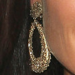 Kyle Richards Gold Dangle Earrings