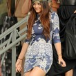 Kylie Jenner Print Dress