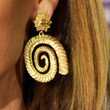 Kylie Minogue Jewelry - Gold Dangle Earrings