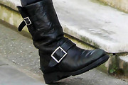 Kylie Minogue Motorcycle Boots