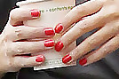 Kylie Minogue Red Nail Polish