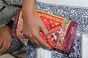 Lily Aldridge Beaded Clutch