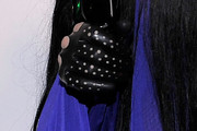 Lady Gaga Leather Gloves