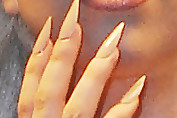 Lady Gaga Neutral Nail Polish