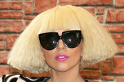 Lady Gaga Short cut with bangs