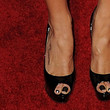 Laura Vandervoort Peep Toe Pumps