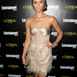 Laura Vandervoort Strapless Dress