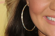 Lauren Alaina Gold Hoops
