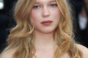 Lea Seydoux Long Curls