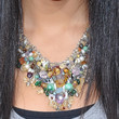 Leah Lewis Gemstone Statement Necklace