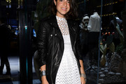 Leandra Medine Leather Jacket