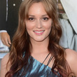 Leighton Meester Long Curls with Bangs