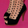 Lena Shoes - Peep Toe Pumps