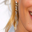 Lily Donaldson Dangling Diamond Earrings