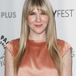 Lily Rabe Hair - Long Straight Cut with Bangs