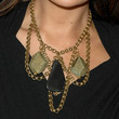 Lindsay Price Gold Chandelier Necklace