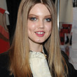 Lindsey Wixson Hair - Long Center Part
