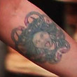 Lisa Bonet Artistic Design Tattoo
