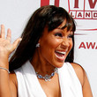Lisa Raye Long Straight Cut with Bangs