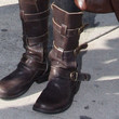 Lisa Rinna Shoes - Motorcycle Boots