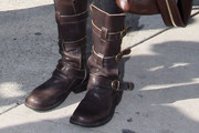 Lisa Rinna Motorcycle Boots