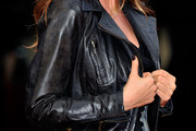 Lisa Snowdon Leather Jacket