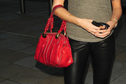 Lisa Snowdon Leather Shoulder Bag