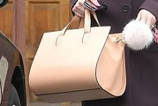 Lisa Vanderpump Leather Tote