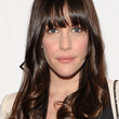 Liv Tyler Hair - Long Wavy Cut with Bangs